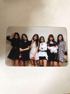 wts (g)i-dle gidle idle group broadcast pc card photocard