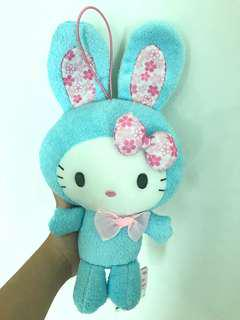 Instock hello kitty easter bunny rabbit plush soft toy
