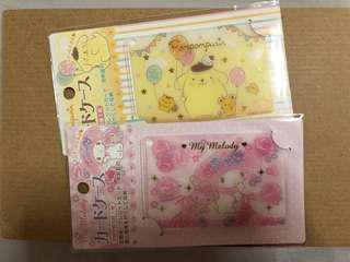 🚚 Sanrio MyMelody & Pompompurin card case