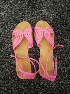 Raoul Pink Sandals