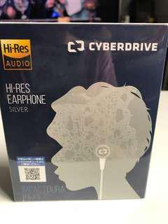 全新Cyberdrive hi-res Earphone