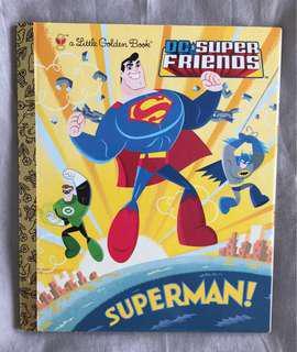Bundle of DC Superhero Books for Preschool Beginning Readers