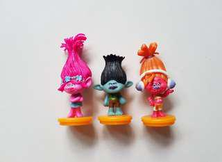 Trolls cake toppers/ Figurine/toy/Display/miniature