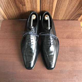 Gay Giano Black Formal Leather Shoes