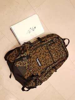 Brand Ultra Rare New Supreme 28th Leopard Cudora Backpack