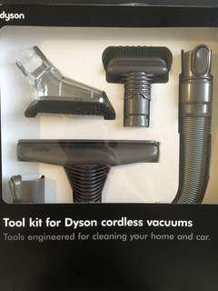 Tool kit for Dyson cordless vacuums