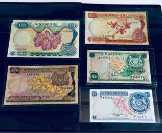 Vintage Orchid Series SGP Notes