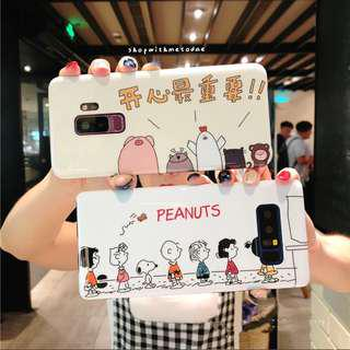 Snoopy Huawei P20 pro / Honor 10 / Samsung Note 9 casing