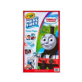 Brand new Crayola Color Wonder Poster Pages, Mess Free - Thomas & Friends