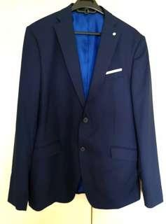 For sale... Like new, Zara Man blue blazer