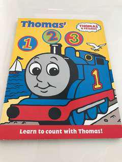 Preloved Thomas and Friends 123 Book