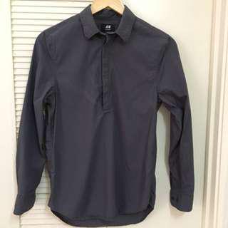 H&M Regular Fit Long-Sleeve Shirt