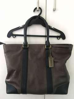 COACH Leather Travel Bag