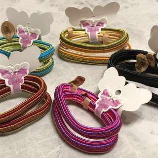 拼色束髮繩(5色選擇)