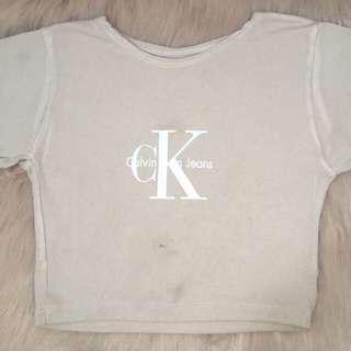 Calvin Klein Crop Shirt