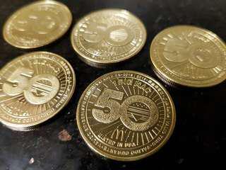 McDonald's McDo 50 Years of Big Mac Gold Coins