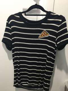 H&M Pizza Tshirt