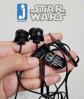 Jazwares Star Wars Darth Vades Stereo Ear Buds