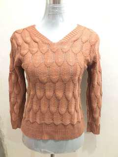 Old Rose Knitted Pullover