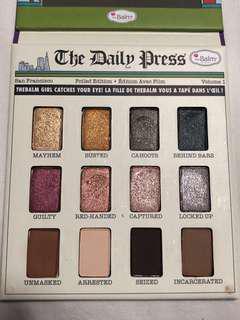 The balm eyeshadow palette