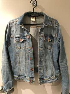 H&M Denim Jacket Size 8