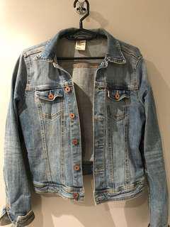 H&M Denim Jacket Size 8