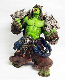 2 figures World of Warcraft DC Unlimited Series 1 Action Orc Shaman