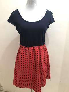 Rue 21 Polka Dress
