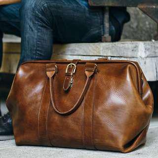 Satchel & Page Gladstone Duffel Duffle Bag