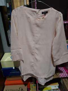 Blouse wanita hardware pink salem