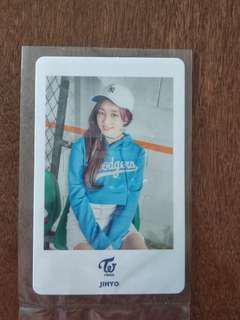 TWICE Jihyo Japan Concert Photocard