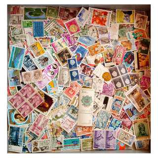 World stamps mix 1000+ pcs. BM30  Good for children collection.