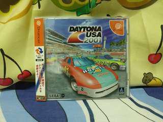 中古 日版 Sega Dreamcast Daytona usa 2001