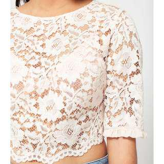 (3 for RM150) Miss Selfridge Lace Top