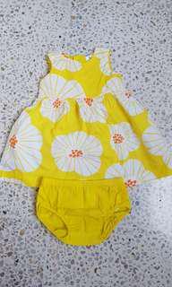 Preloved original carter's baby dress