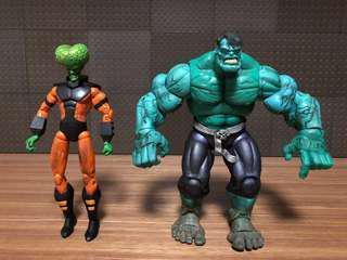 Marvel legends classic hulk leader