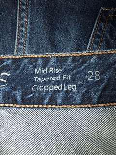 COS blue jeans