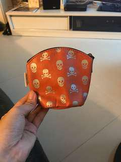 骷髏頭 散紙包 Skull coin bag