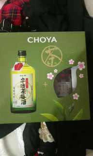 Choya 京都宇治茶梅酒禮盒