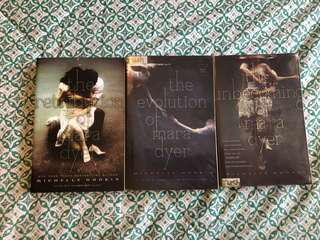 The Unbecoming of Mara Dyer, The Evolution of Mara Dyer, The Retribition of Mara Dyer by Michelle Hodkins
