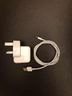 Apple 12W USB Power Adapter (iPhone/iPad Charger)