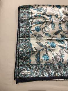 Queens ottoman turkey silk scarf