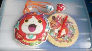Yokai mini sling bag, ID holder figures