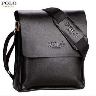 🚚 Men's Leather Messenger Bag | Crossbody Bag | Sling Bag