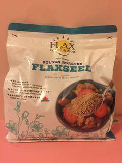 Flaxseed (Cold Milled Golden Roasted) Flax for Nutrition 1.2kg