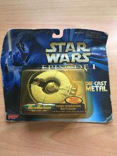 Star Wars Collectible Trade Federation Battleship