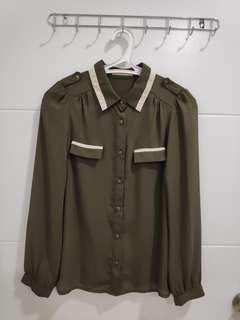 #09003 Sans & Sans Green S