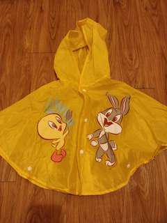 Tweety Baby Rain Poncho