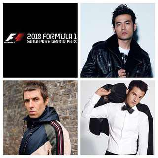 F1 Premier Walkabout - Friday and Saturday