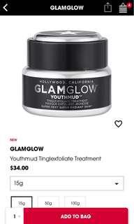Glamglow Youthmud Tinglexfoliate Treatment (10g)